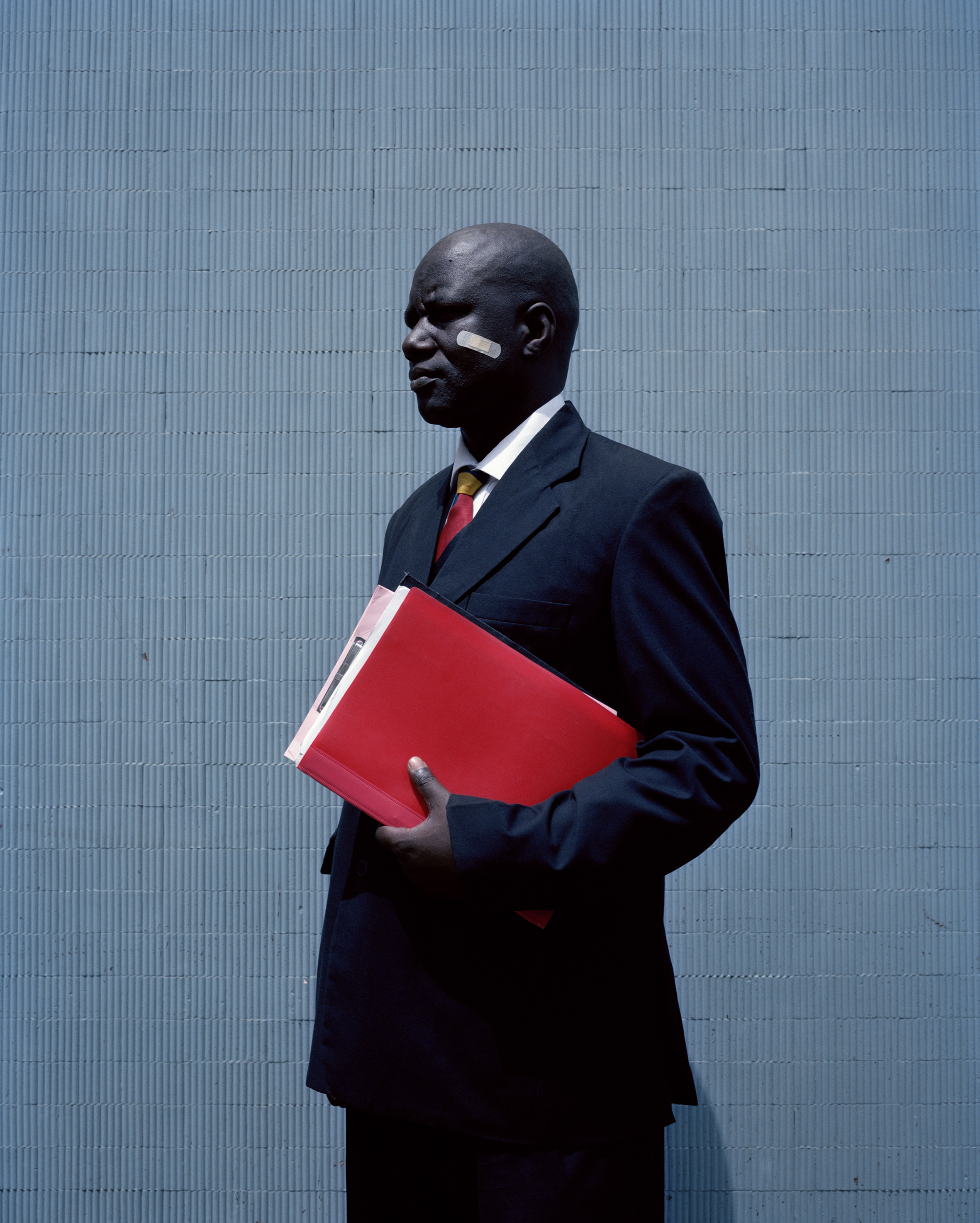 """George David Otieno Obiero"", fot. Viviane Sassen (źródło: materiały organizatorów)"