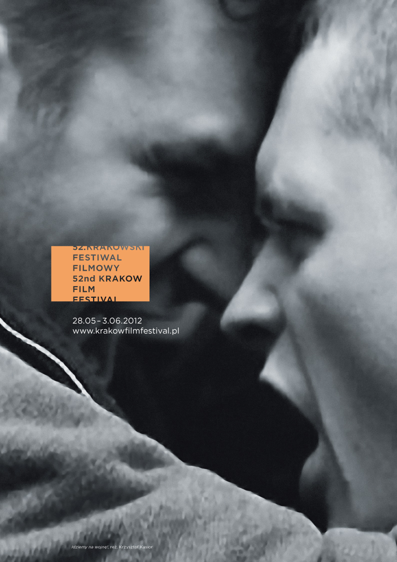Plakat Krakowskiego Festiwalu Filmowego (źródło: materiały prasowe)