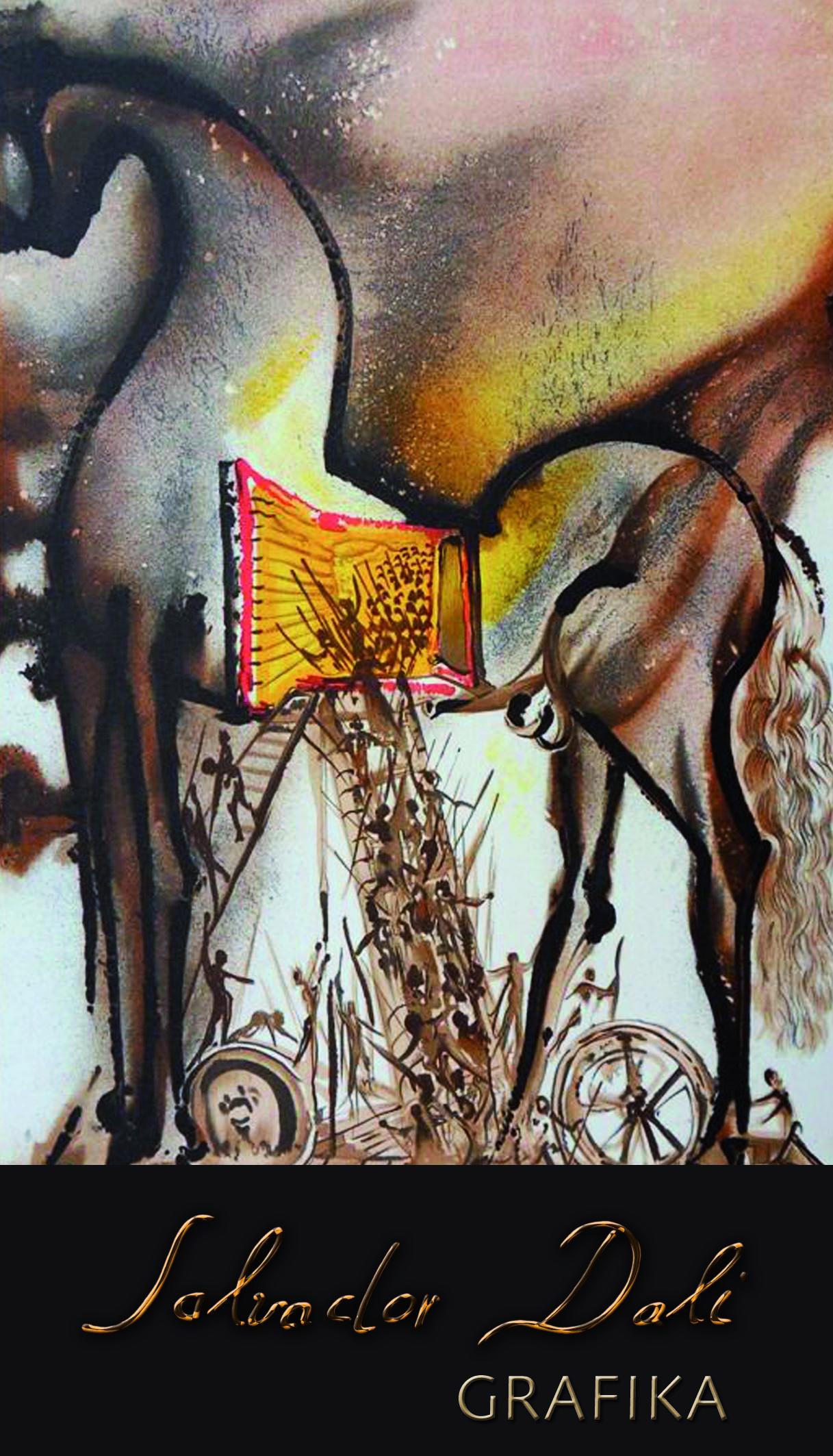 Wystawa grafik Salvadora Dalego w Centrum Kultury ZAMEK we Wrocławiu (źródło: materiały prasowe)