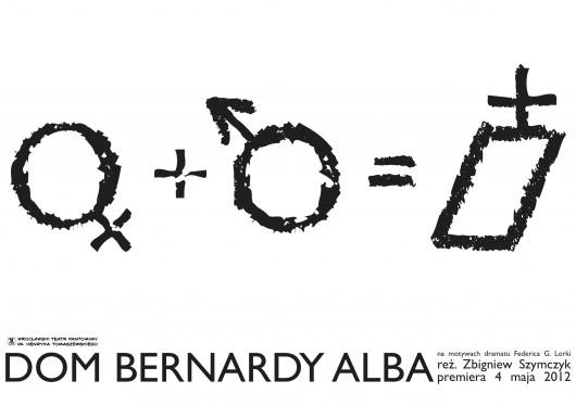 """Plakat spektaklu """"Dom Bernarda Alby"""" (źródło: materiały prasowe organizatora)"""