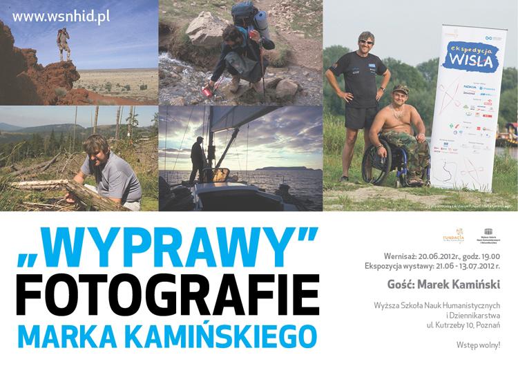 """Marek Kamiński, """"Wyprawy"""" (źródło: materiały prasowe)"""
