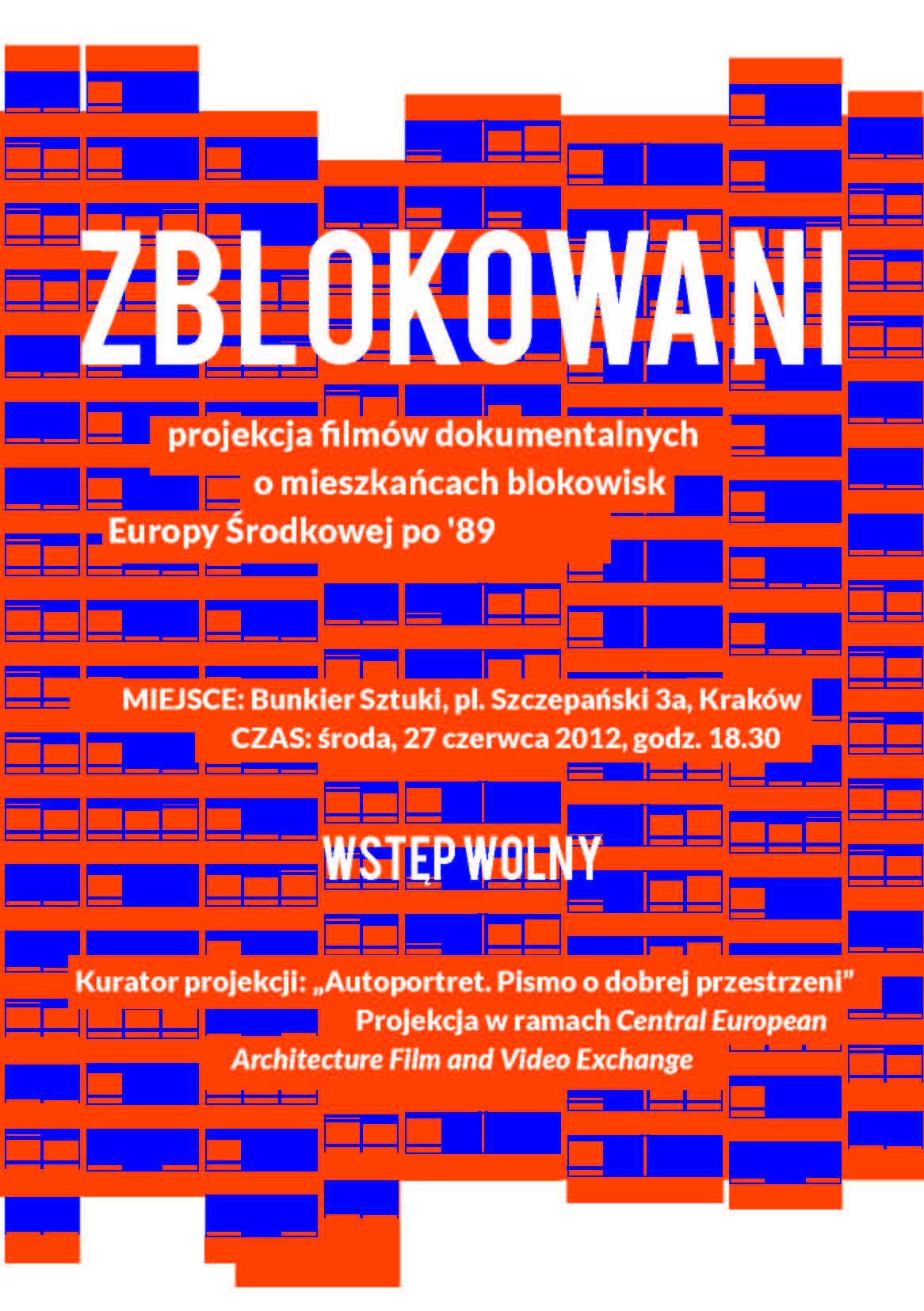 """""""Zblokowani"""", plakat promujący (źródło: materiały prasowe)"""