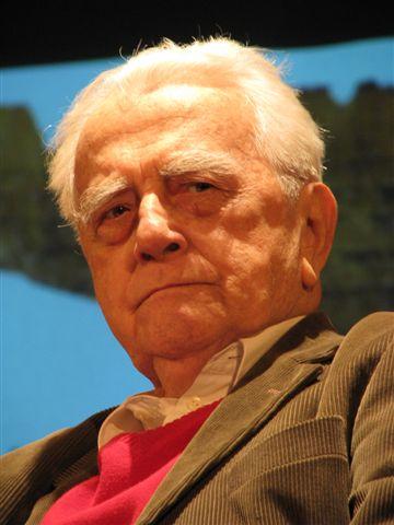 Andrzej Łapicki, fot. Mariusz Kubik (źródło: Wikipedia)