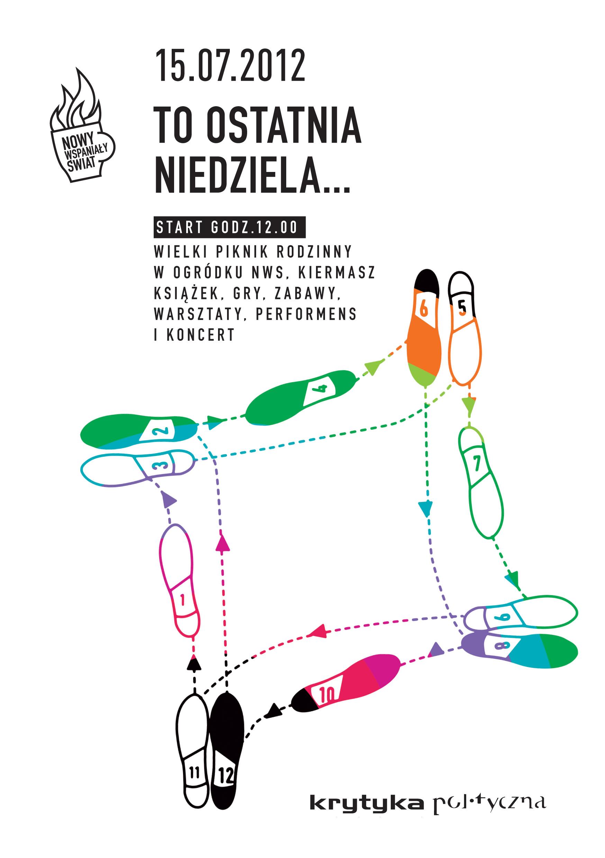 Pożegnanie Centrum Kultury Nowy Wspaniały Świat w Warszawie (źródło: materiały prasowe)