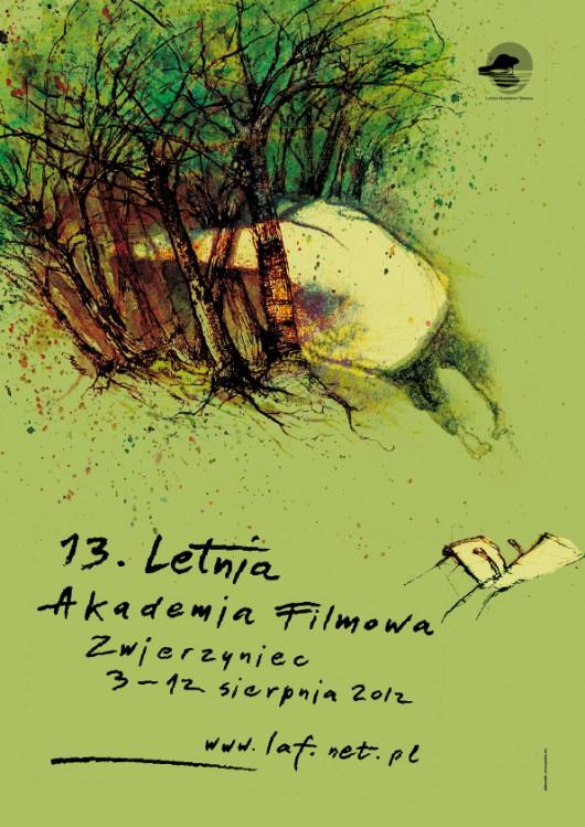 """Plakat wydarzenia """"Letnia Akademia Filmowa"""" (źródło: materiały prasowe dystrybutora)"""