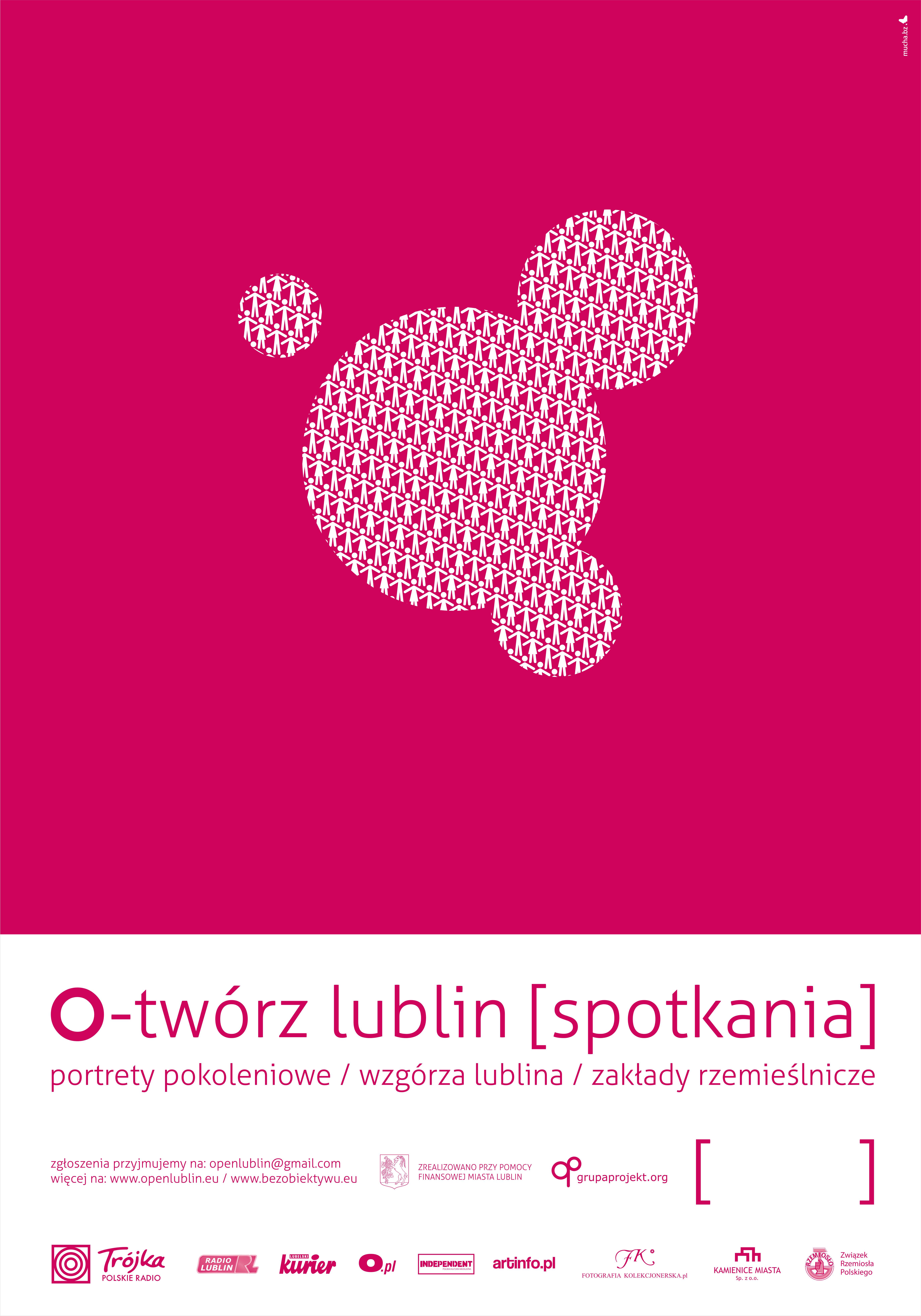 O-Twórz! Lublin, plakat (źródło: materiały prasowe)