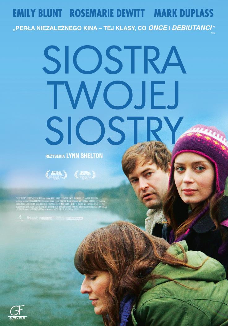"""""""Siostra Twojej Siostry"""", plakat promujący (źródło: materiały prasowe)"""