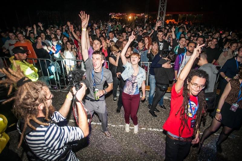 Festiwalowa publiczność (fot. W. Nowak / źródło: materiały prasowe organizatora)