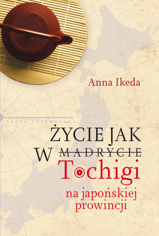 Okładka książki Anny Ikeda (źródło: materiały prasowe organizatora)