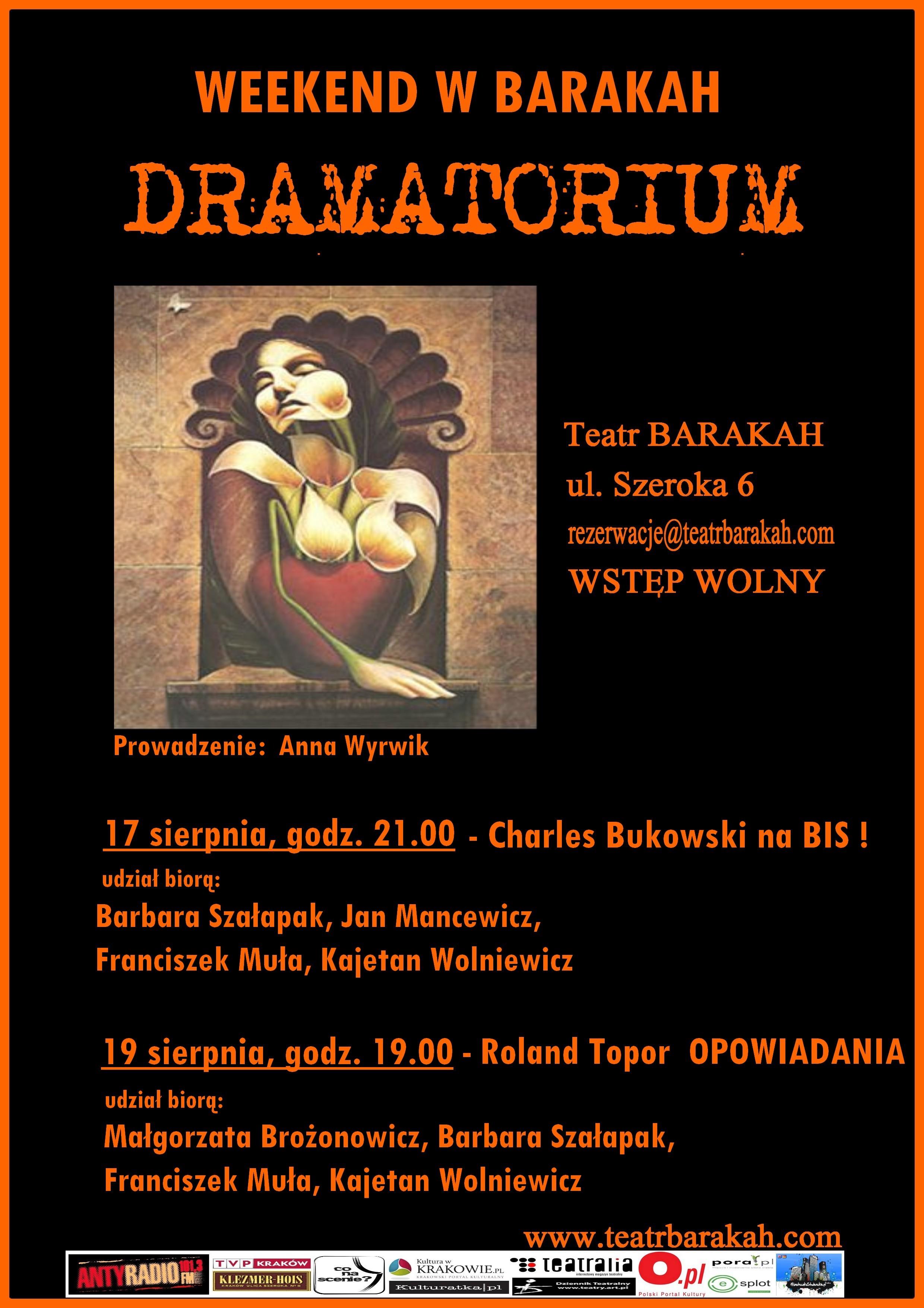 Dramatorium w Teatrze Barakah (źródło: materiały prasowe)