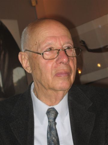 Erwin Axer, fot. Mariusz Kubik (źródło: Wikipedia. Wolna Encyklopedia)
