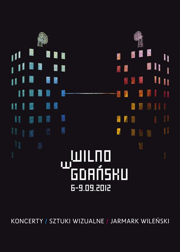 Festiwal Wilno w Gdańsku 2012, plakat (źródło: materiały prasowe)