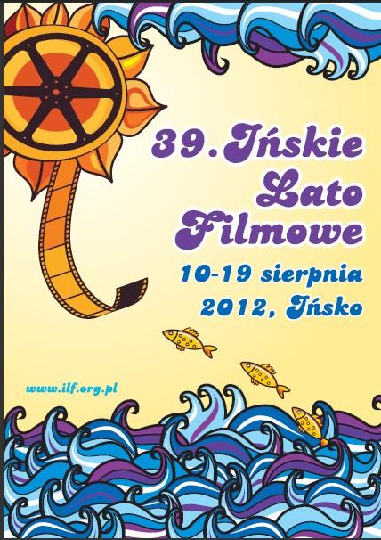 """Plakat festiwalu """"Ińskie Lato Filmowe"""" (źródło: materiały prasowe organizatora)"""