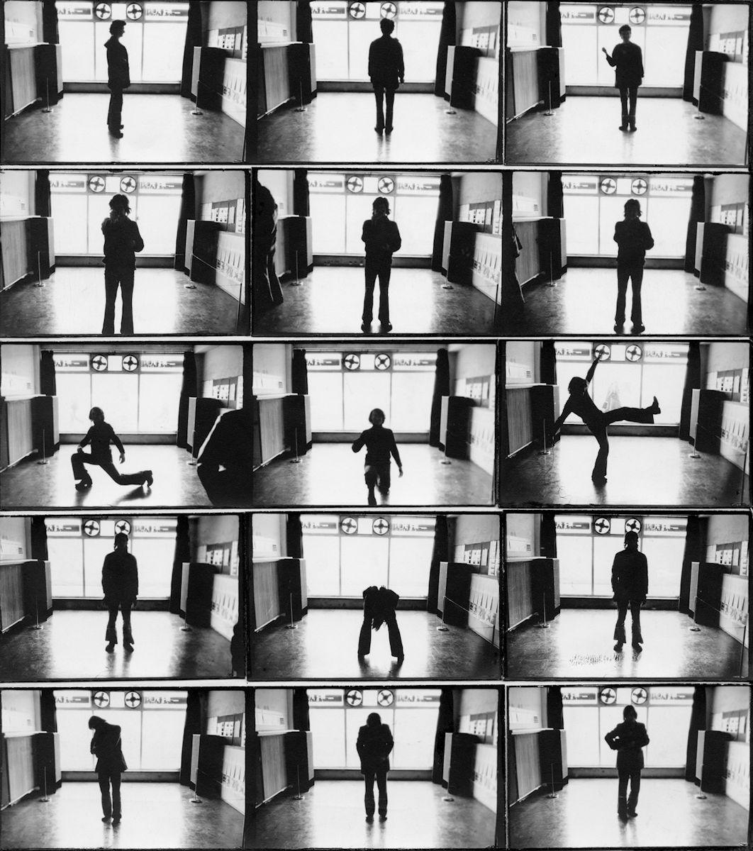 """Józef Robakowski, """"Trzy pozy"""", 1975 (źródło: materiały prasowe organizatora)"""