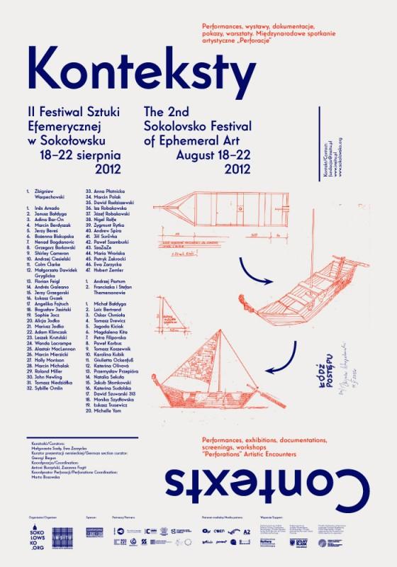Konteksty 2012 – II Festiwal Sztuki Efemerycznej w Sokołowsku (źródło: materiały prasowe)