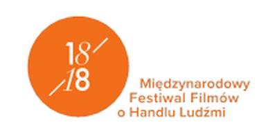 18/18 Międzynarodowy Festiwal Filmów o Handlu Ludźmi, logo (źródło: materiały prasowe organizatora)