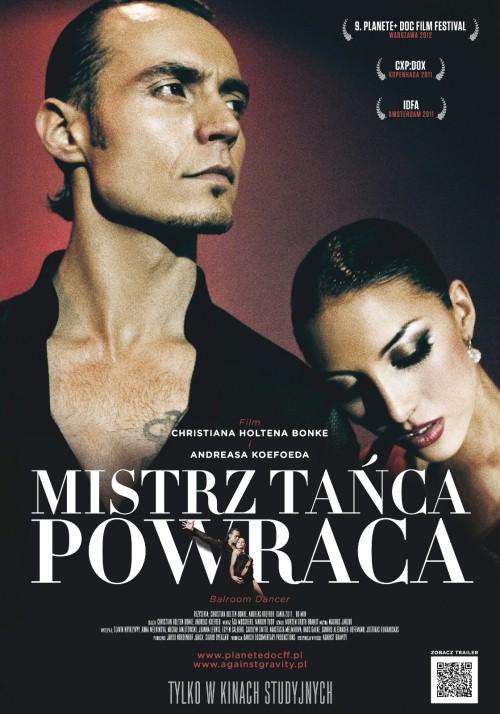 """""""Mistrz tańca powraca"""", plakat filmu (źródło: materiały prasowe)"""