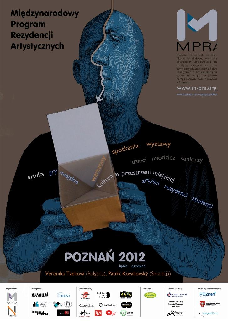 Międzynarodowy Program Rezydencji Artystycznych, plakat (źródło: materiały prasowe)