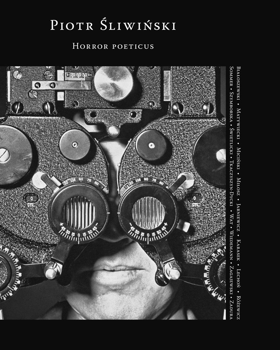 """Piotr Śliwiński """"Horror poeticus"""", okładka (źródło: materiały prasowe)"""