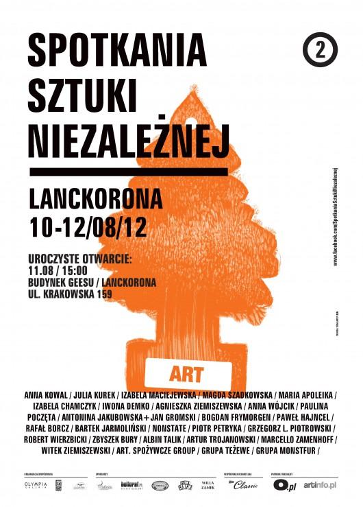 Przegląd Sztuki Niezależnej, plakat (źródło: materiały prasowe)