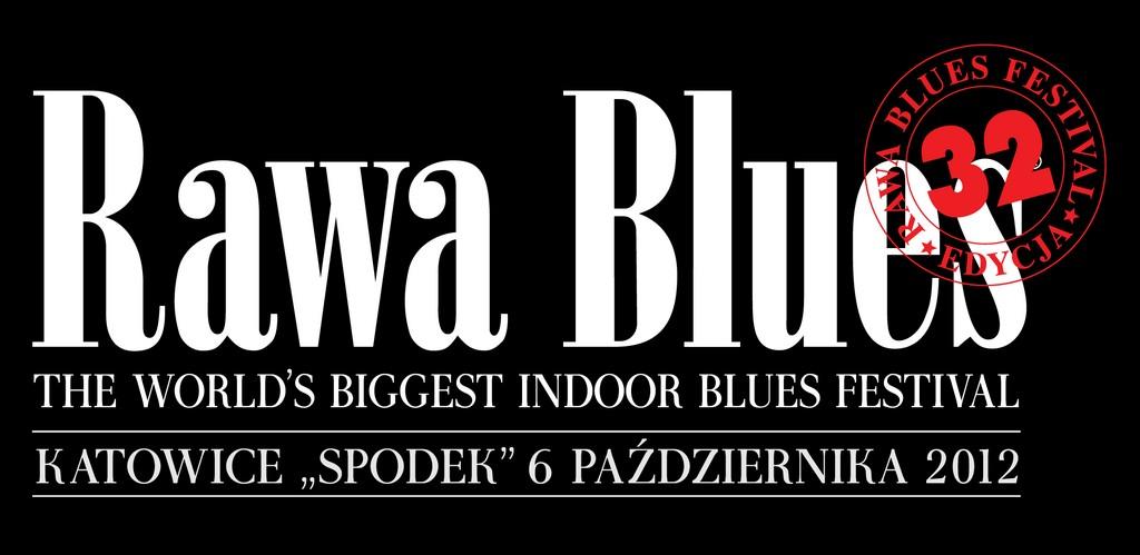 32. Rawa Blues Festival, logo (źródło: materiały prasowe organizatora)