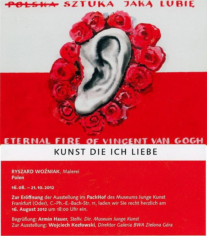 Ryszard Woźniak, Sztuka jaką lubię, Museum Junge Kunst Frankfurt (źródło: materiały prasowe organizatora)