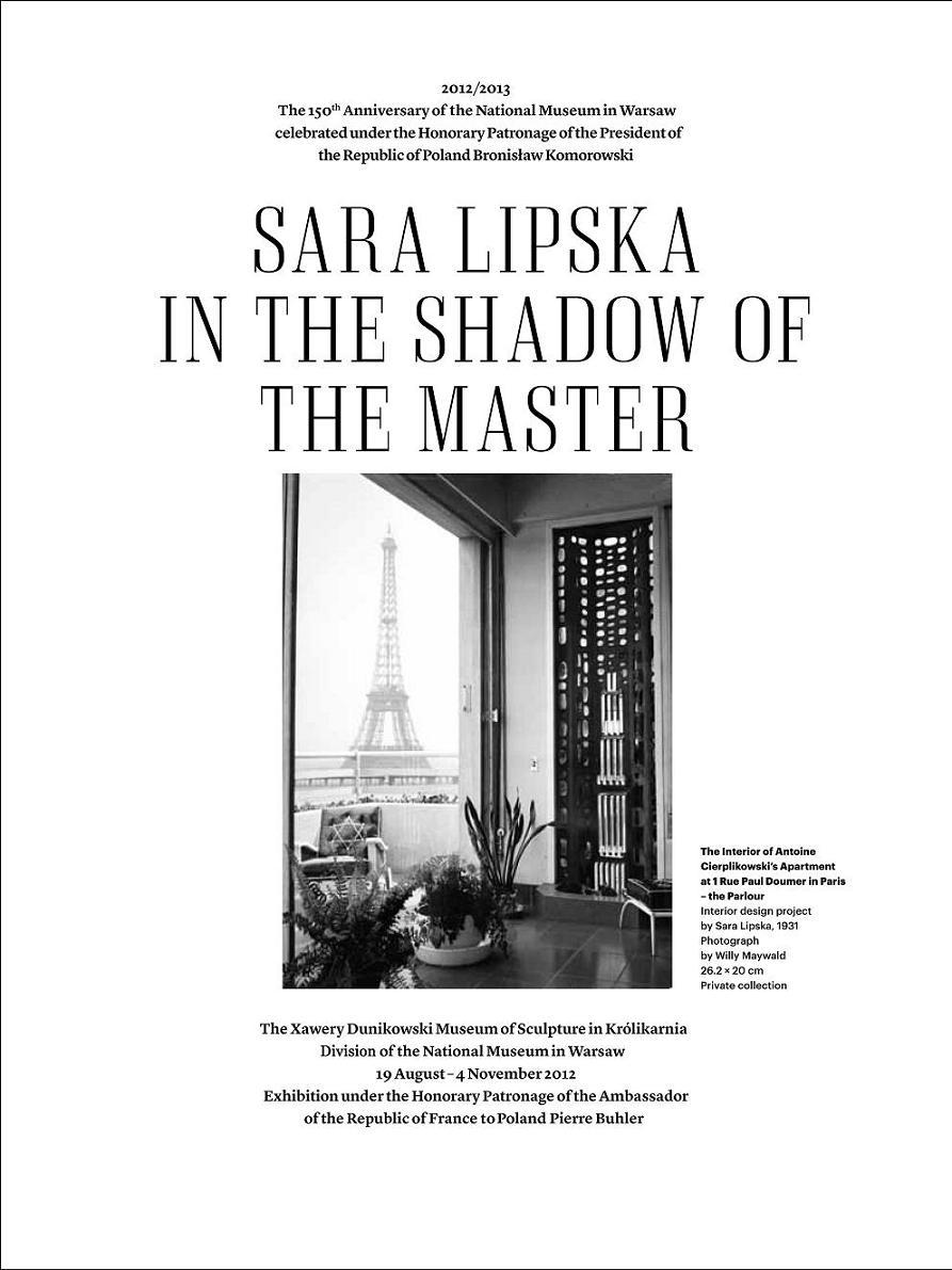 Sara Lipska.W cieniu mistrza (źródło: materiały prasowe organizatora)
