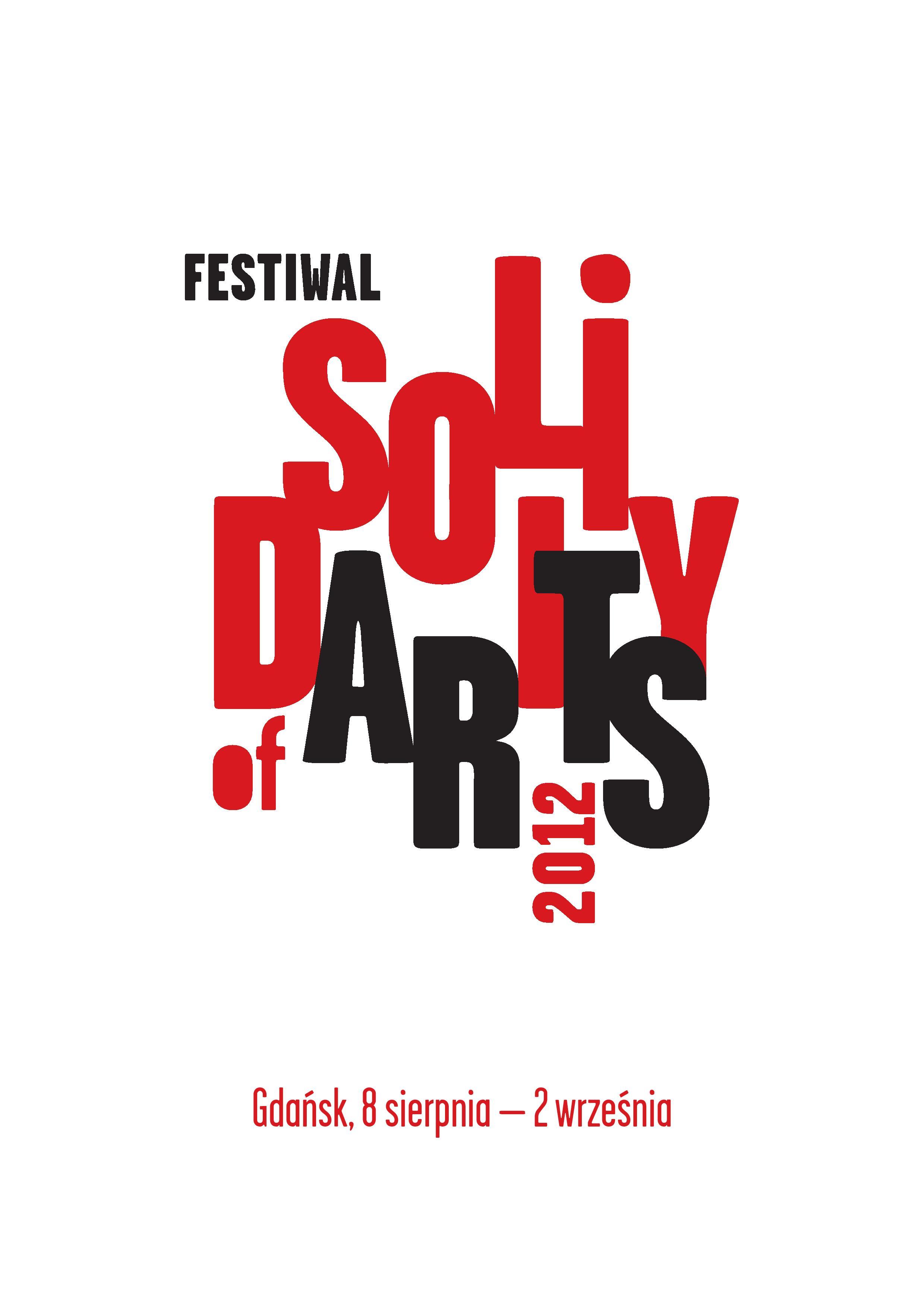Solidarity of Arts, plakat promujący (źródło: materiały prasowe organizatora)