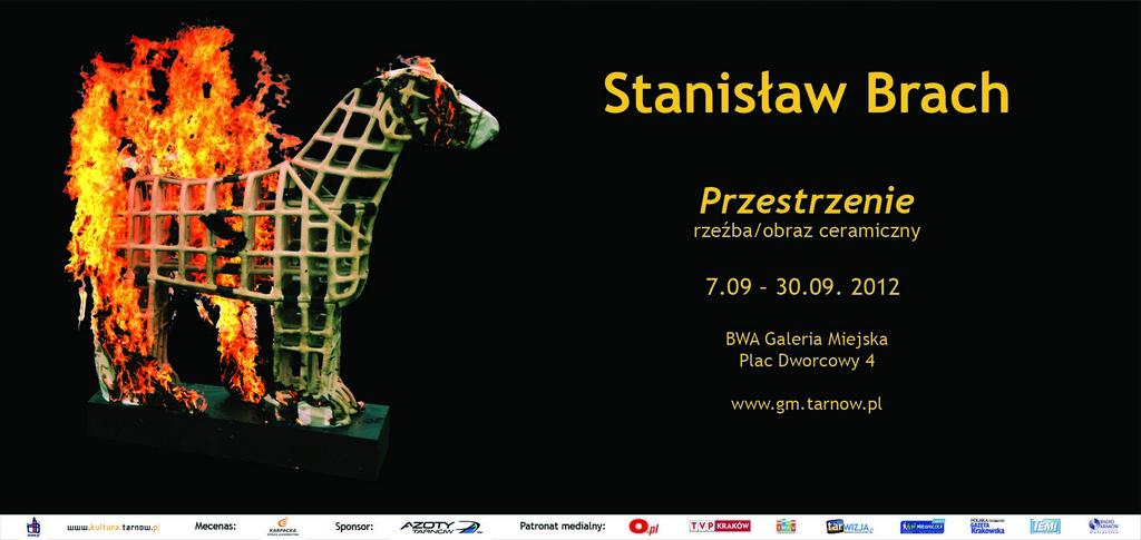 Stanisław Brach, Przestrzenie, plakat (źródło: materiały prasowe)