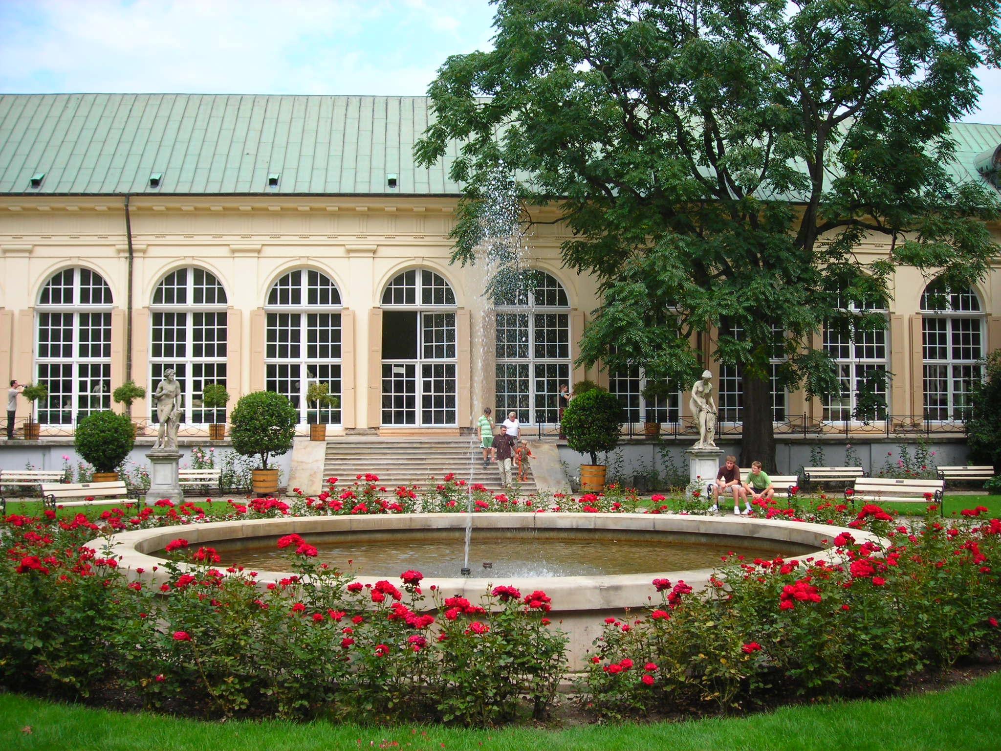 Stara Pomarańczarnia, Łazienki Królewskie w Warszawie (fot. Justyna Kuska)