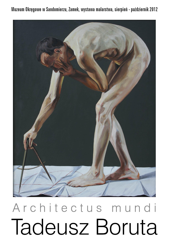 "Tadeusz Boruta ""Architectus mundi"", plakat (źródło: materiały prasowe)"