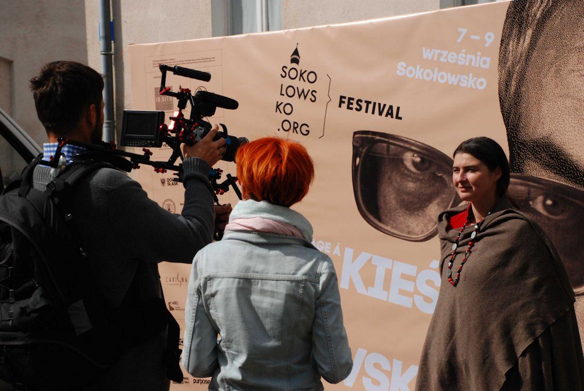 """2. edycja Sokołowsko Festiwal """"Hommage à Kieślowski"""", Zuzanna Foggt, In Situ, 9 września 2012 roku (źródło: materiały prasowe organizatora)"""