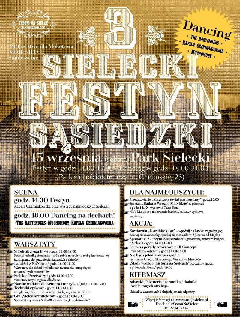 III Sielecki Festyn Sąsiedzki (źródło: materiały prasowe organizatora)