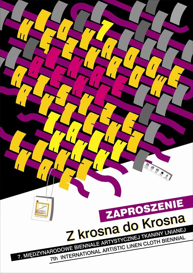 """7.Międzynarodowy Biennale Artystycznej Tkaniny Lnianej """"Z krosna do Krosna"""", (źródło: materiały prasowe organizatora)"""