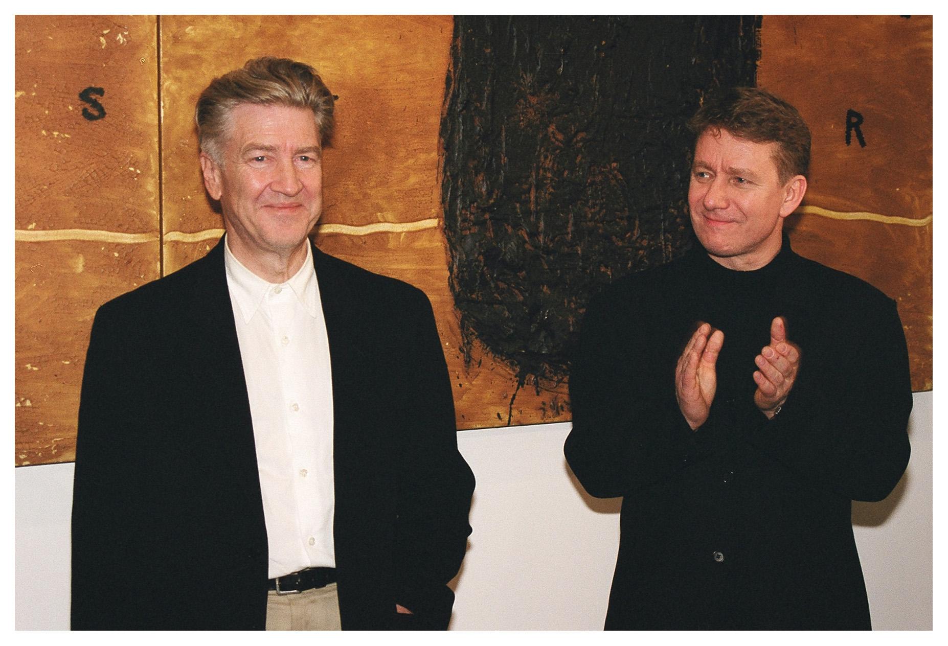David Lynch i Marek Zydowicz, Camerimage 2003, fot. Paweł Herzog (źródło: materiały prasowe organizatora)