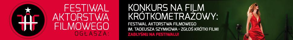 Konkurs na film krótkometrażowy w ramach Festiwalu Aktorstwa Filmowego we Wrocławiu (źródło: materiały prasowe organizatora)