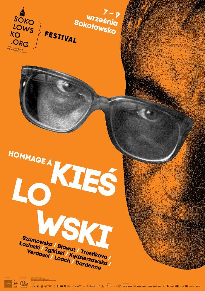 Festiwal Hommage à Kieślowski – plakat (źródło: materiał prasowy organizatora)