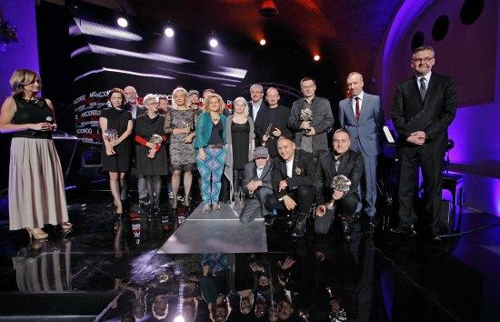Gala rozdania nagród MKiDN, fot.Danuta Matloch (żródło: materiał prasowy MKDiN)