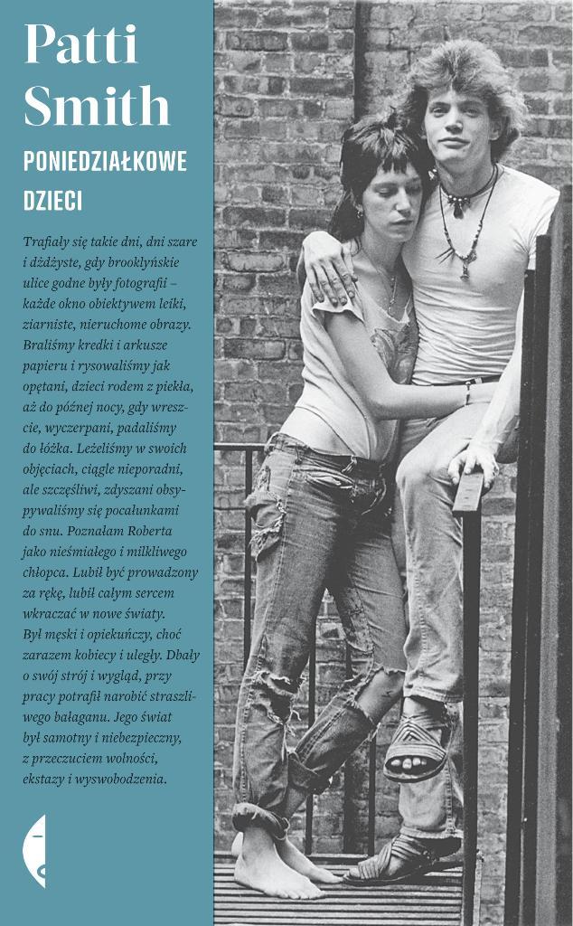"""Patti Smith """"Poniedziałkowe dzieci"""", okładka (źródło: materiały prasowe wydawcy)"""