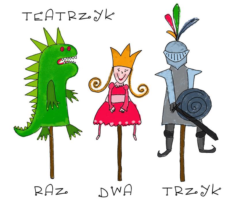 Teatrzyk Raz Dwa Trzyk (źródło: materiały prasowe organizatora)
