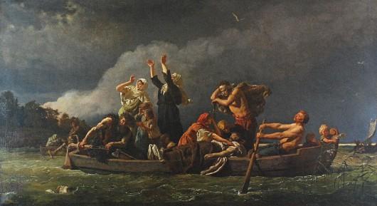 """Wojciech Gerson, """"Bez ziemi. Pomorzanie wyparci przez Niemców na wyspy Bałtyku"""" (źródło: materiały prasowe organizatora)"""