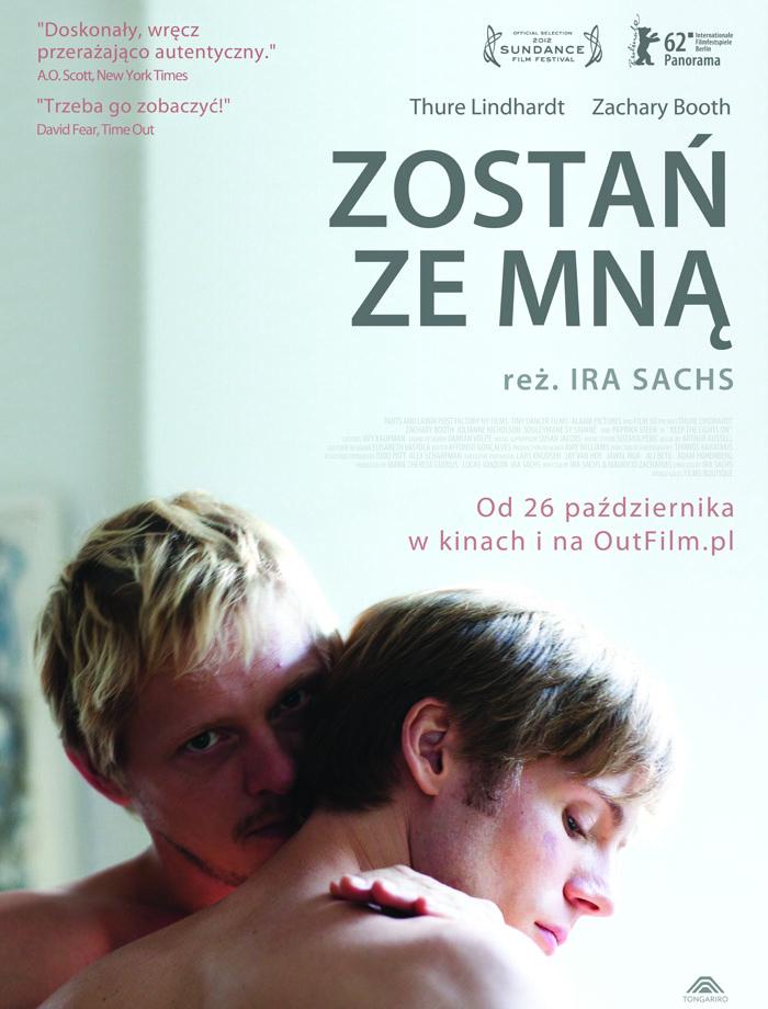 """""""Zostań ze mną"""", reż. Ira Sachs, plakat (źródło: materiały prasowe dystrybutora)"""