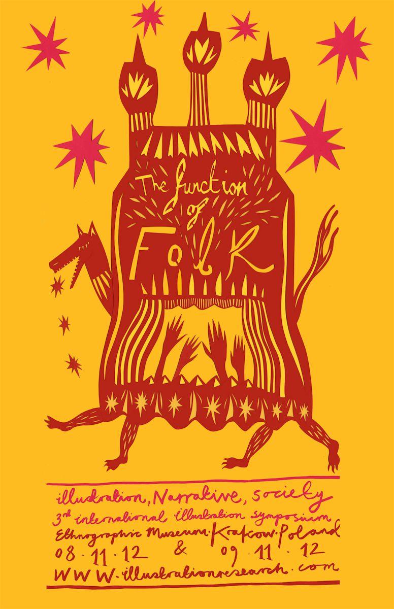 3. Międzynarodowe Sympozjum Ilustracji w Krakowie, plakat (źródło: materiały prasowe organizatora)