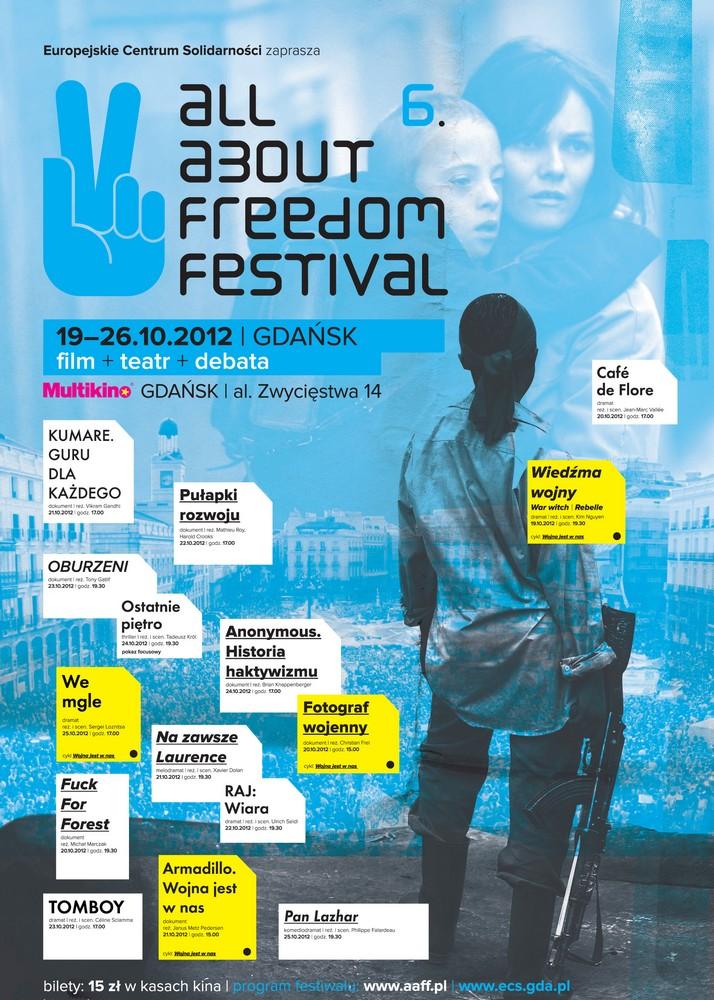 All About Freedom Festival, plakat (źródło: materiały prasowe organizatora)