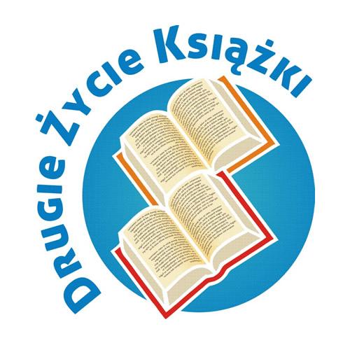 """""""Drugie Życie Książki"""", logo (źródło: materiał prasowy)"""