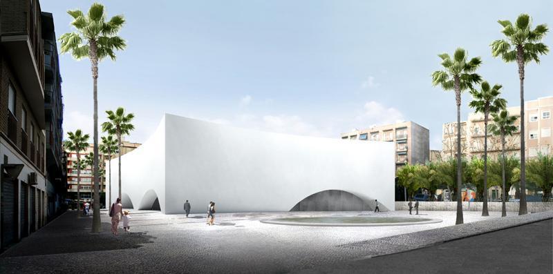 Budynek audytorium w Elche, Hiszpania, proj. Estudio Barozzi Veiga (źródło: materiały prasowe organizatora)