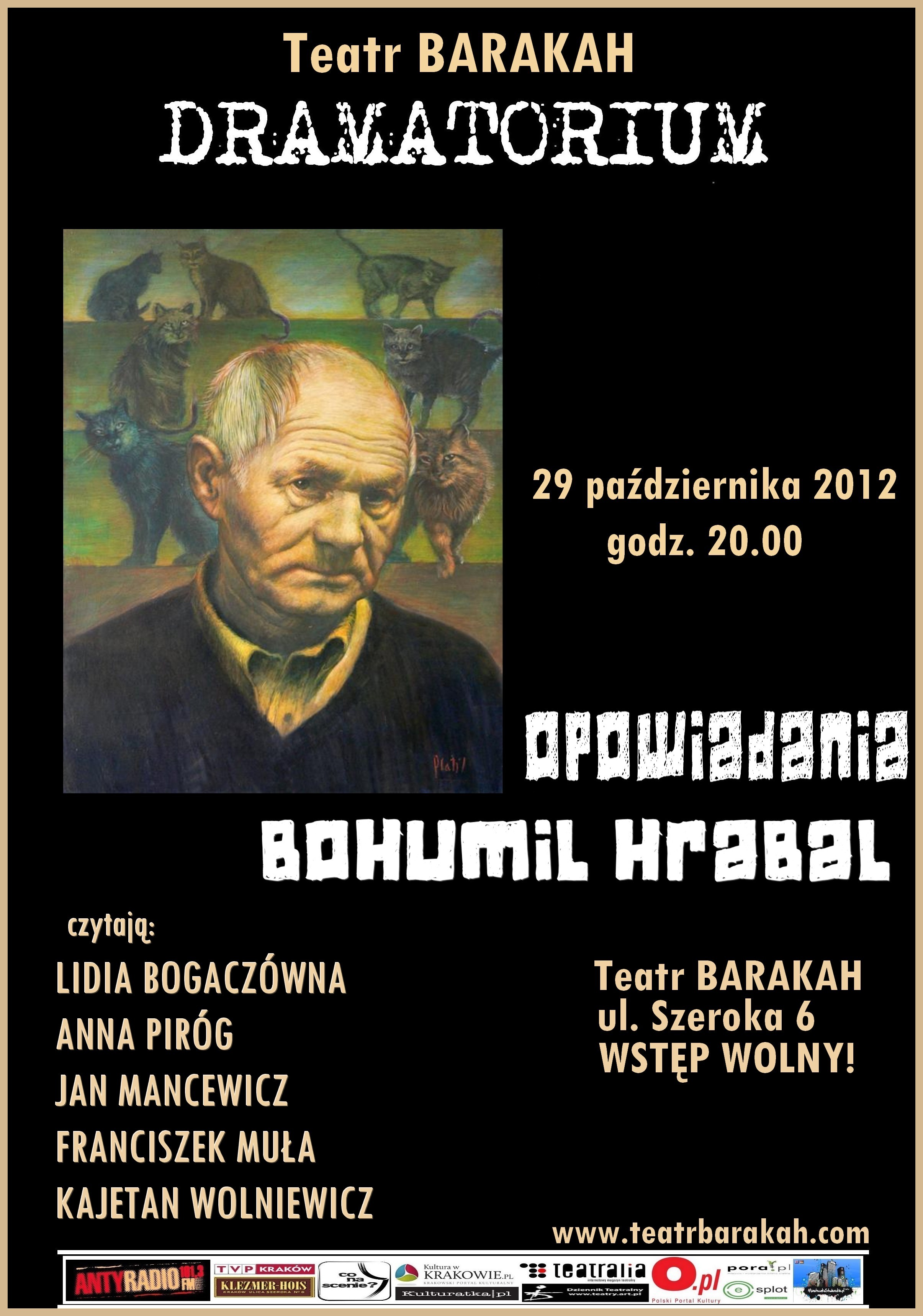 Dramatorium, plakat (źródło: materiały prasowe)
