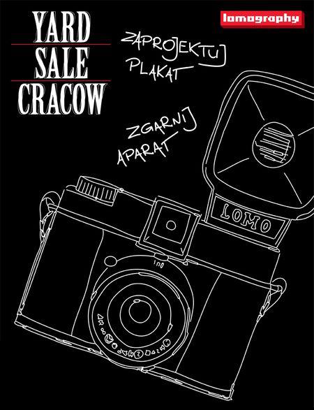 Konkurs na plakat Yard Sale Cracow (źródło: materiały prasowe organizatora)