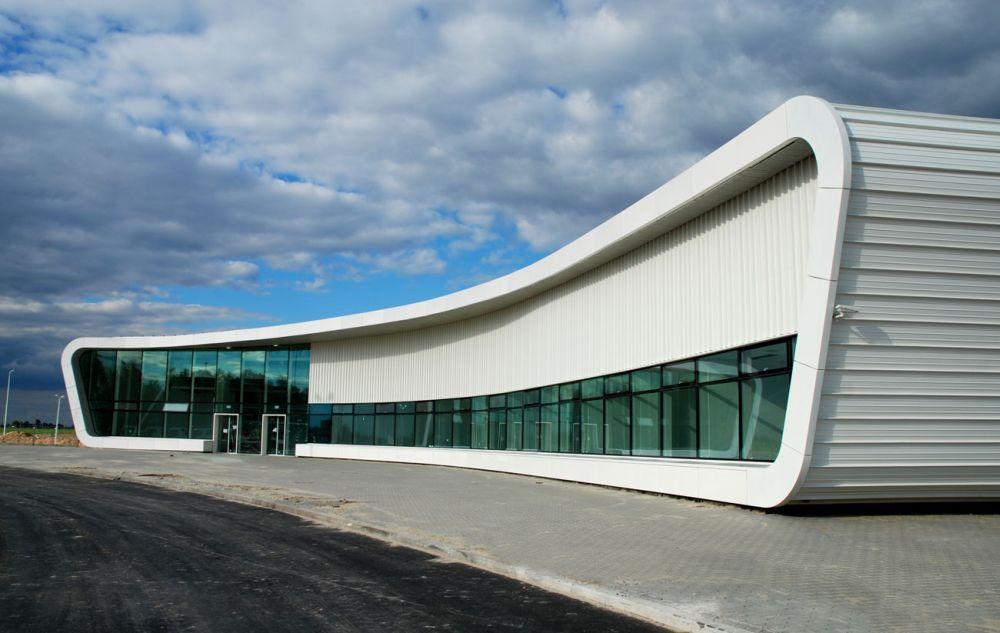 Lotnisko w Lublinie, proj. pracownia ARE (źródło: materiały prasowe organizatora)