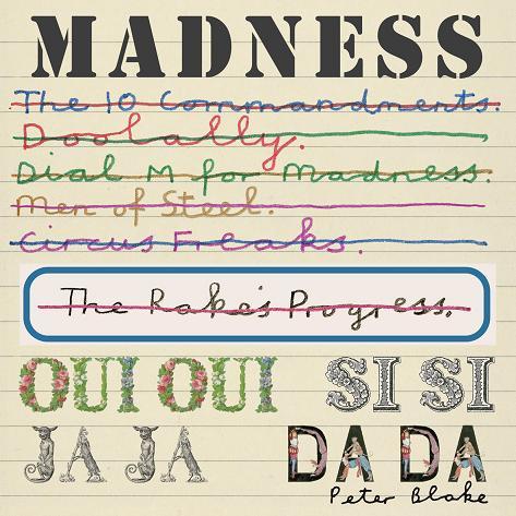 """Madness """"Oui, Oui, Si, Si, Ja, Ja, Da, Da"""", okładka (źródło: materiały prasowe wydawcy)"""